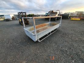10 x 4 galvanised cattle box feeder farm livestock tractor