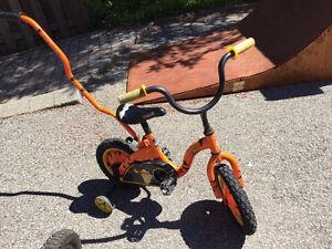 Vélo garcon enfant