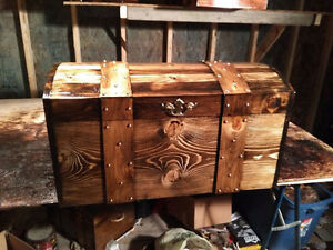 # CURVED TOP TREASURE,HOPE CHEST,STORAGE BOX, TRUNK,