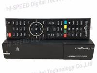 Original ZGEMMA H.2H Combo HD Receiver Dual Core Linux OS DVB-S2 + Hybrid DVB-T2