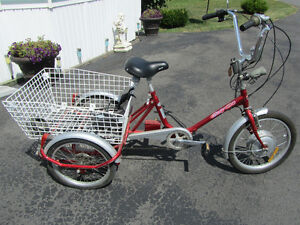 bicycle electrique 3 roues  easy rider