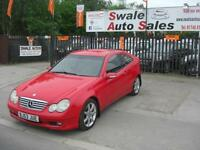 2003 MERCEDES-BENZ C220 CDI SE 2.1TD AUTOMATIC FULL SERVICE HISTORY