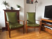 Parker and Knolls arm chairs