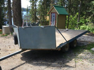 Snowmobile Trailer