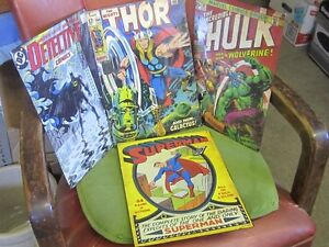 DECORATIVE COMIC BOOK COVER TIN SIGNS $25 EA XMEN HULK SPIDERMAN