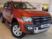2015 Ford Ranger WILDTRAK PICK UP Diesel orange Manual