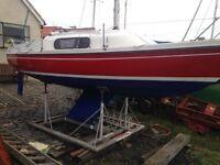 22 ft boat / yacht