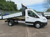 2015 Ford Transit 350 125 Single Cab Tipper Alloy One Stop Dropside Body
