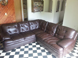 Leather Sectional for sale