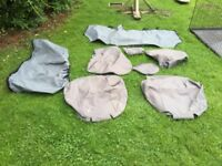 Quality seat cover set land rover freelander 1