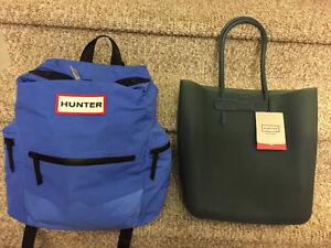 New! Hunter silicone tote bag or nylon backpack Kitchener / Waterloo Kitchener Area image 1