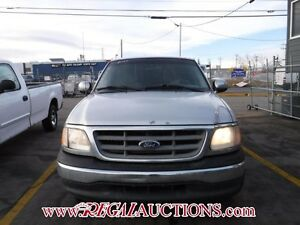 2001 FORD F150  SUPERCAB 2WD