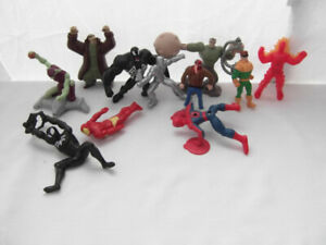 SPIDER-MAN¤VENOM¤IRON MAN 11 MARVEL FIGURINES SUPER HEROS