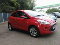 2013 Ford KA 1.2 Zetec (s/s) 3dr Hatchback Petrol Manual