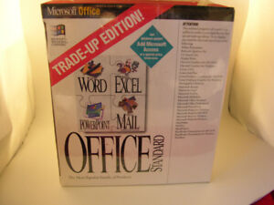 Microsoft Office - Complete volume - trade up edition $25