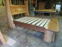 Tree bed hand crafted by Deep Forest