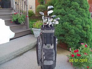 Men's Left Hand 13-pc Golf Clubs Set (Top Flite Plus) & Bag