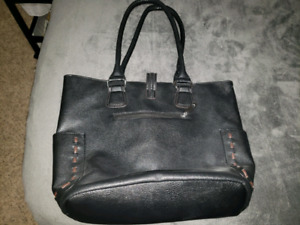 Large black purse perfect condition