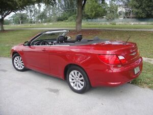 2010 Chrysler Sebring Touring Convertible
