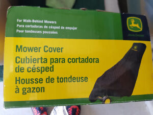 ******JOHN DEER LAWNMOWER COVER*****