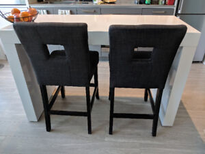 $650 OBO - Counter-height kitchen table and 2 chairs