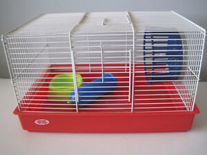 Hamster/Gerbil cage with accessories