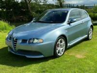 ALFA ROMEO 147 GTA FUTURE CLASSIC 3.2 V6 AUTO * RARE AZZURRO GABBIANO BLUE *