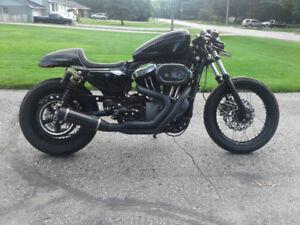 2009 Harley-Davidson Sportster Cafe Racer