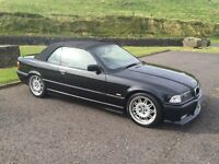 1999 BMW e36 323 2.5l M3 rep Convertible full year MOT