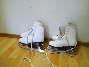 girls figure skate,$15 for 1, $25 for both