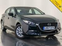 2017 67 MAZDA 3 SE 5 DOOR PETROL HATCHBACK AIR CONDITIONING 1 OWNER SVC HISTORY