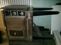Garland full size gas convection oven