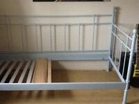 Girls single blue day bed