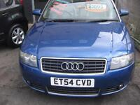 2005 AUDI A4 CABRIOLET 2.4 AUTOMATIC