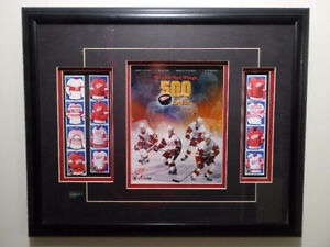 "Detroit Red Wings ""500 Goal Crew"" Framed Picture"