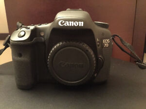 Canon 7D and Lenses
