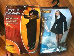 Naughty Nun & Naughty Priest Costumes