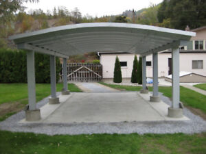 New Steel Carport or Boat or Equipment Cover