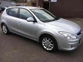 5707 Hyundai i30 1.4 Style Silver 5 Door 78116mls MOT 12m
