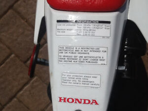 2016 Honda.CRF.50CC.$2000.00.OBO