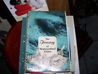 Old Cook Book The Treasury of Newfoundland Dishes