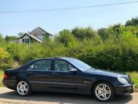 2004 [04] MERCEDES-BENZ S 55 L AMG KOMPRESSOR LIMO BLUE SALOON EVERY EXTRA S55