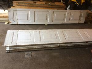 Garage door 9'w x8'h