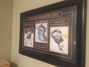 Winnipeg Jets 3 photos framed Edmonton Edmonton Area image 1