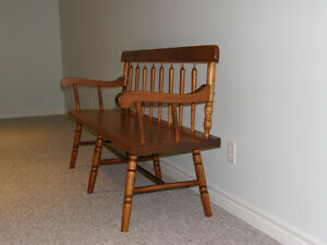 Pine Bench for Sale in Goderich