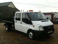 Ford Transit 2.2TDCi ( 100PS ) ( EU5 ) ( RWD ) 350L Double cab TIPPER LOW MILES