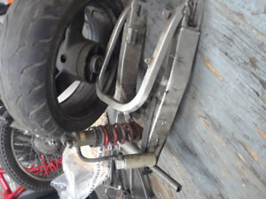 1994 Cbr 900 rear swingarm with shock
