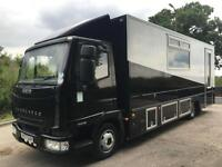 2007 Iveco Eurocargo 75e16 mobile classroom 20kms, ideal motorhome/race truck