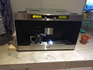 Miele nespresso built in coffee maker
