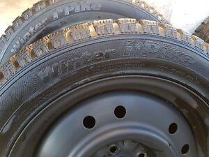 WINTER TIRES AND RIMS  205/55/16 West Island Greater Montréal image 2